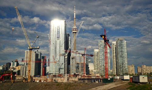Toronto Condo Construction Boom