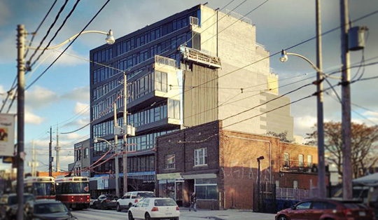 Abacus Lofts Adding a Futuristic Touch to Dundas Street West