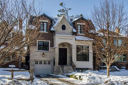 Leaside Infill House